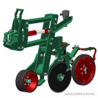 Double Disc Opener Planter Assembly